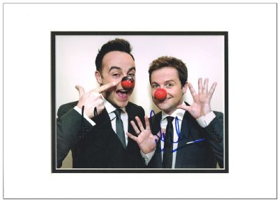 Ant & Dec Autograph Signed Photo